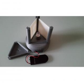 TD-PRINT-3D - Pyramide photo Led Personnalisable - ___Objet décoratif - Plastique