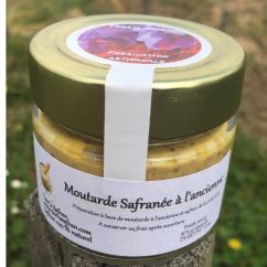 Terr'a Safran - Moutarde safranée - Moutarde