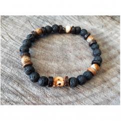Terradelie Créations - Bracelet de Créateur en perles et Pierres de Gemmes - Bracelet -