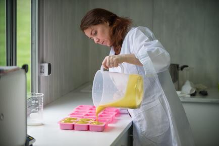 Terre d'ânesse - Cosmétiques artisanaux au lait d'ânesse frais. Fait par moi même sur l'exploitation.