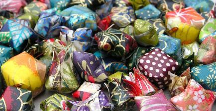 Terre de passion - Création artisanale de bijoux origami en papier japonais et maroquinerie textile