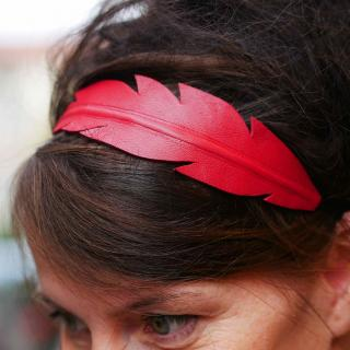 Têt'en l'air - Headband plume - Bandeau adulte