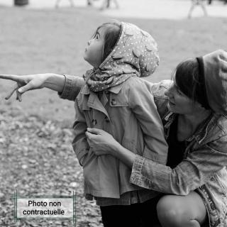 Têt'en l'air - Snood Capuche AZUR - Accessoires de mode (enfant)
