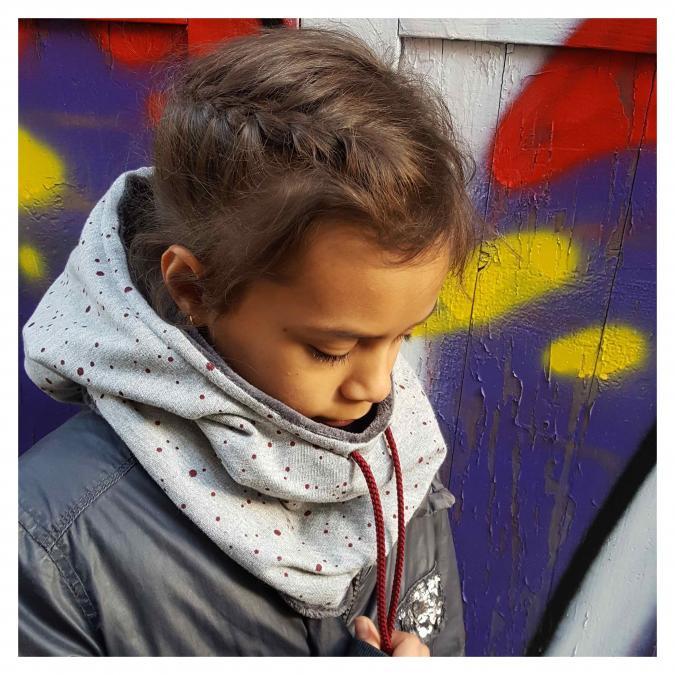 Têt'en l'air - Snood Capuche CONFETTIS - Accessoires de mode (enfant)
