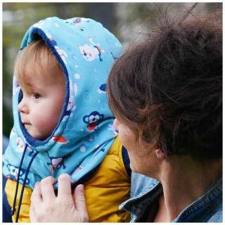 Têt'en l'air - Snood Capuche PLONGEE SOUS MARINE - Accessoires de mode (enfant)