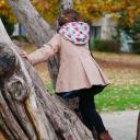 Têt'en l'air - Snood Capuche RADIS - Accessoires de mode (enfant)