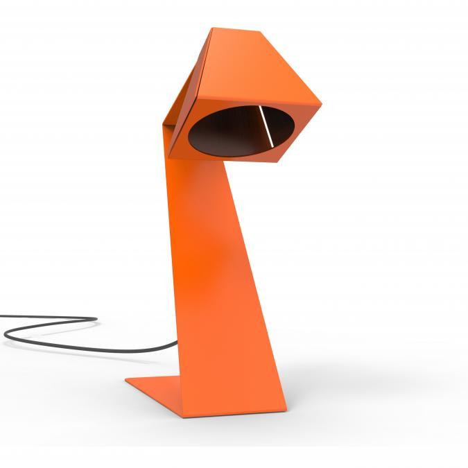 Thomas de Lussac - Big z light Noir - Lampe de bureau - ampoule(s)