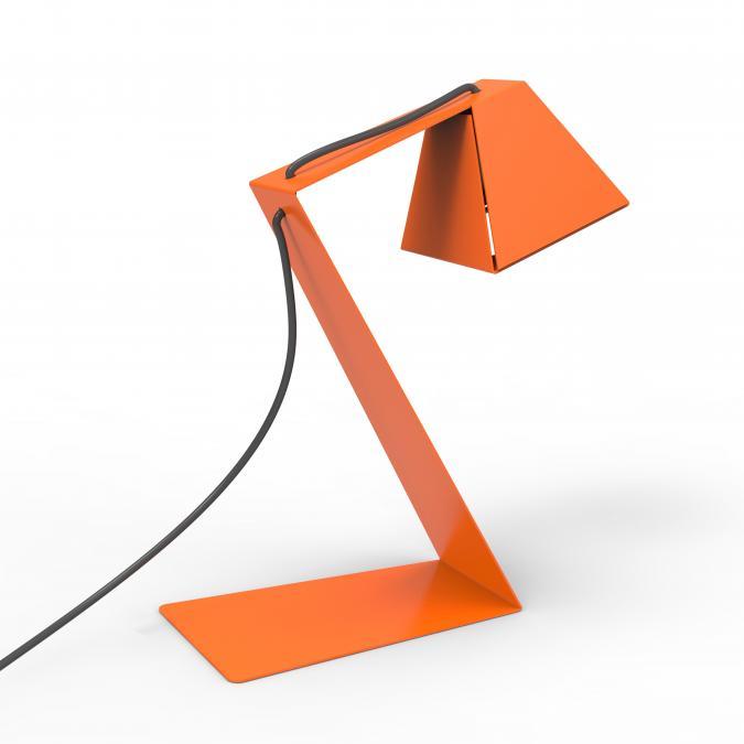Thomas de Lussac - Big z light Orange - Lampe de bureau - ampoule(s)