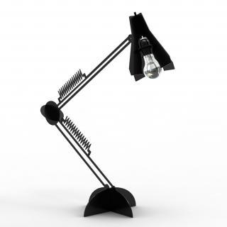 Thomas de Lussac - Larketip Noir - Lampe de bureau - ampoule(s)