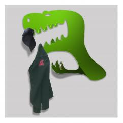 Thomas de Lussac - Mantosaure vert - Porte-manteau