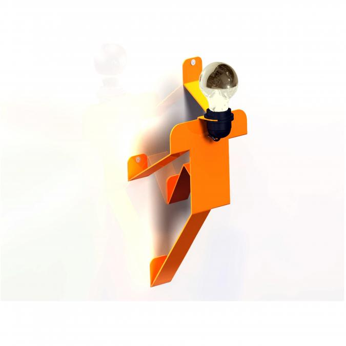 Thomas de Lussac - Moonwalk APPLIQUE COSMO orange - Applique murale - ampoule(s)