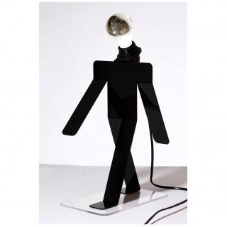 Thomas de Lussac - Moonwalk COSMO noir - Lampe de bureau - ampoule(s)