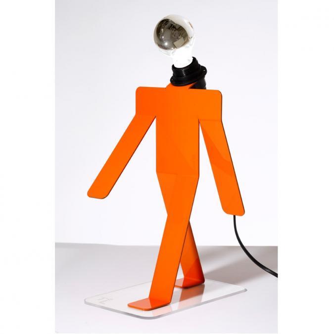Thomas de Lussac - Moonwalk COSMO orange - Lampe de bureau - ampoule(s)