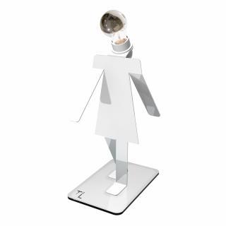 Thomas de Lussac - Moonwalkette COSMO blanc - Lampe de bureau - ampoule(s)