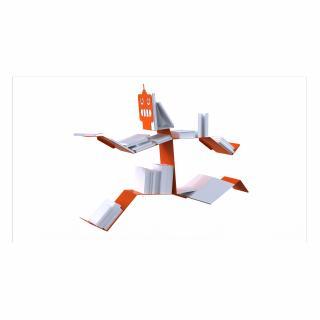 Thomas de Lussac - Robook Blanc - Bibliothèque - Aluminium