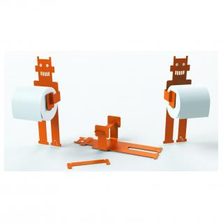 Thomas de Lussac - Robot trobo Orange - Dérouleur de papier toilette