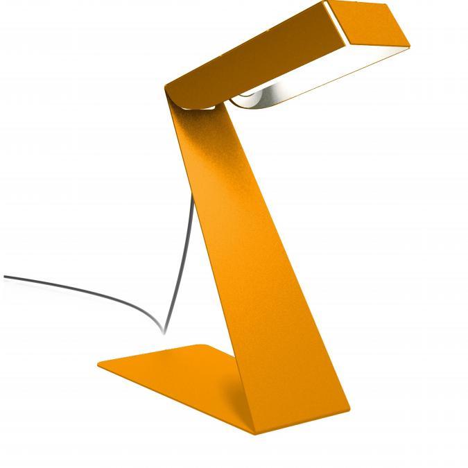 Thomas de Lussac - Small z light orange - Lampe de bureau - ampoule(s)