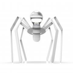 Thomas de Lussac - Spider light blanc - Lampe de chevet - ampoule(s)