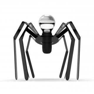 Thomas de Lussac - Spider light noir - Lampe de chevet - ampoule(s)