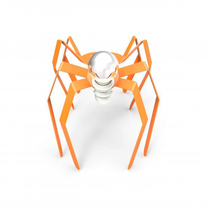 Thomas de Lussac - Spider light orange - Lampe de chevet - ampoule(s)