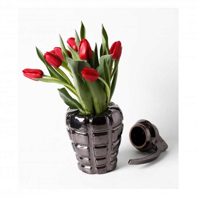 Thomas de Lussac - Welcome ! Gris - Vase