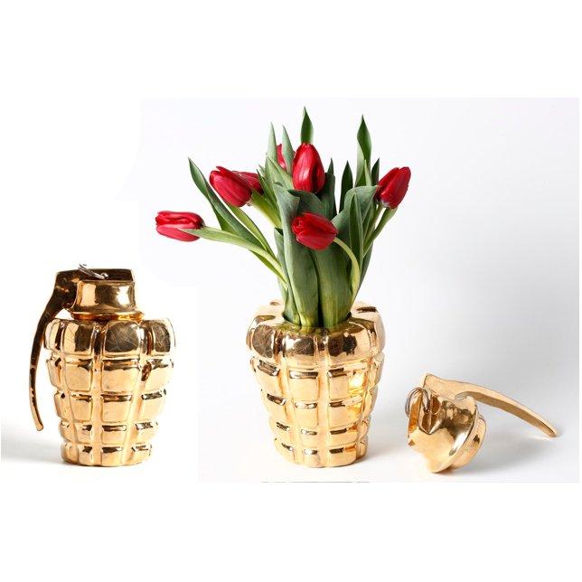 Thomas de Lussac - Welcome ! Or - Vase