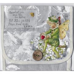 """Association """"Une vie, un arbre"""" - 10-154 - enveloppe d'artiste (Art Postal)"""