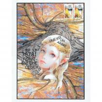 """Association """"Une vie, un arbre"""" - 19-029 - enveloppe d'artiste (Art Postal)"""