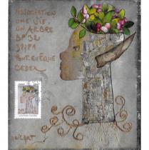 """Association """"Une vie, un arbre"""" - 19-085 - enveloppe d'artiste (Art Postal)"""