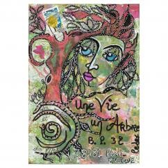 """Association """"Une vie, un arbre"""" - 19-099 - enveloppe d'artiste (Art Postal)"""