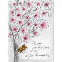 """Association """"Une vie, un arbre"""" - 19-218 - enveloppe d'artiste (Art Postal)"""