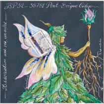 """Association """"Une vie, un arbre"""" - 19-284 - enveloppe d'artiste (Art Postal)"""