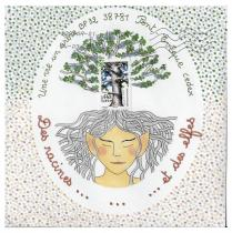 """Association """"Une vie, un arbre"""" - 19-343 - enveloppe d'artiste (Art Postal)"""