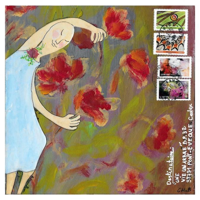 Une vie, un arbre - 20-317 - CBe - RD - Ricochet Postal