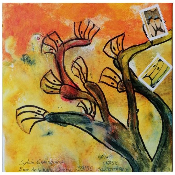 Une vie, un arbre - R20-558 - ek - sg - Ricochet Postal