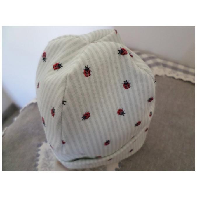 Valcreapassions - Bonnet naissance avec chaussons - Bonnet (bébé)