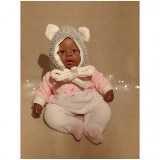 Valcreapassions - Capuche-bonnet bébé - Bonnet (bébé)