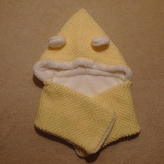 Valcreapassions - Capuche + écharpe solidaires bébé - Echarpe (bébé)