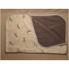 Valcreapassions - Couverture polaire - Couverture pour bébé