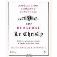 Vignoble Beigner - Château le Chrisly - rouge - 2006 - Bouteille - 0.75L