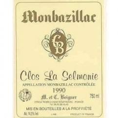 Vignoble Beigner - Clos la Selmonie Cuvée Clara - blanc - 2009 - Bouteille - 0.75L