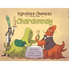 Vignobles Chéneau - CHARDONNAY 2017 / TÉHEM - 2017 - Bouteille - 0.75L