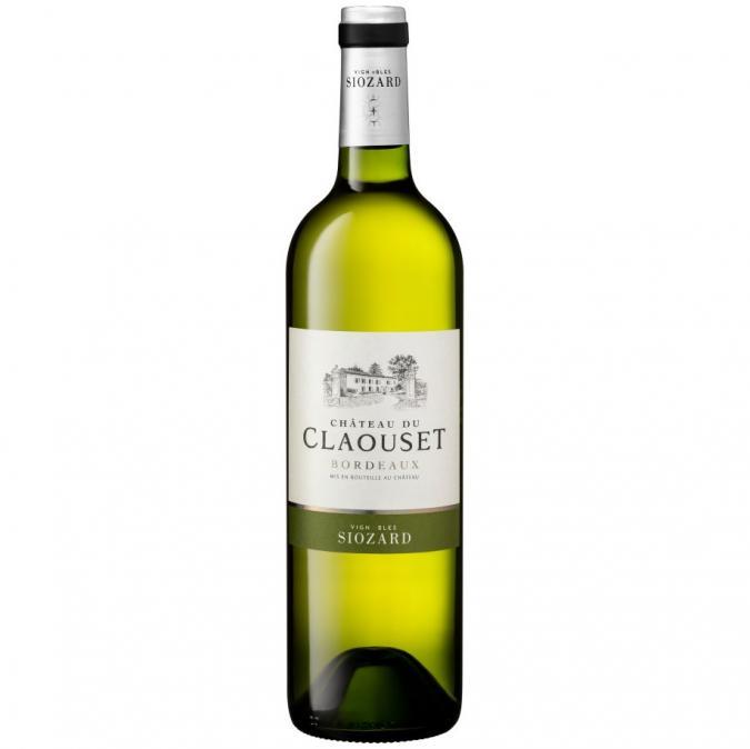 VIGNOBLES SIOZARD - Bordeaux Blanc- Château du Claouset - 2020 - Bouteille - 0.75L