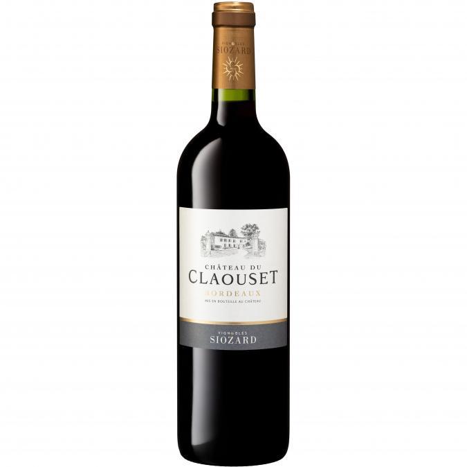 VIGNOBLES SIOZARD - Bordeaux Rouge- Château du Claouset - 2019 - Bouteille - 0.75L