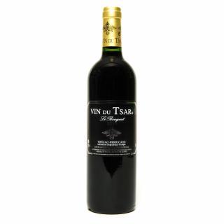 VIN DU TSAR - Vin rouge Le Bouquet 2016 - 2016 - Bouteille - 0.75L