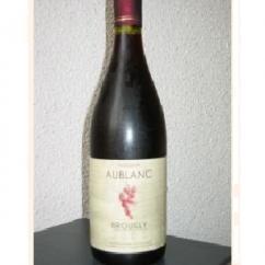 Vins Bénédicte Aublanc - Brouilly fût de chêne - rouge - 2007 - Bouteille - 0.75L