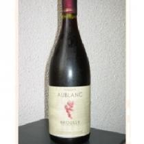 Vins Bénédicte Aublanc - Brouilly - rouge - 2012 - Bouteille - 0.75L
