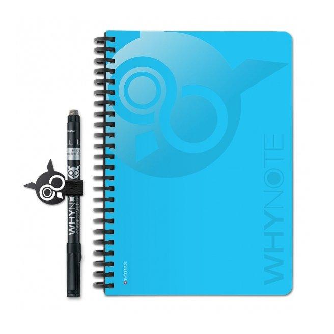 WhyNote - WhyNote Book – A5 – bleu - bloc-note réutilisable