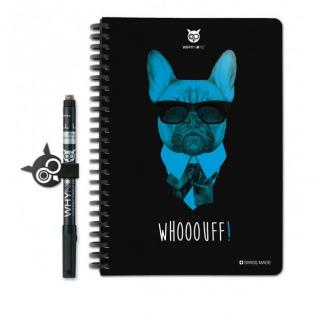 WhyNote - WhyNote Book – A5 – Chien - bloc-note réutilisable