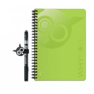 WhyNote - WhyNote Book – A5 – Vert - bloc-note réutilisable